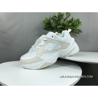 Nike Dad Sneakers Clunky Sneaker Dad Shoes AO3108 006 Air Monarch The M2K Tekno Beige White New Year Deals