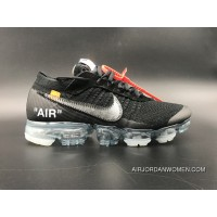 MAX2018 Joint Black Siliver Nike Max Air 2018 OFF-WHITE Vapormax NA18G Top Deals