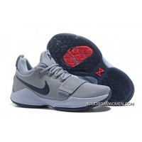 Nike Zoom Pg 1 Shoes Nike Zoom Pg 1 Grey Blue Basketball Shoes New Style