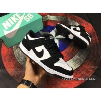 Nike SB Zoom Dunk Low Black WHite Oreo Sneakers 854866-003 New Year Deals
