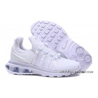 NIKE SHOX 908 All White Men 2018 New Release For Sale