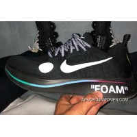 OFF-WHITE X NIKE Zoom Fly 2018 BLACK WHITE AO2115-001 Top Deals