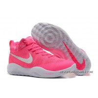 Best Nike Hyperrev 2017 Pink White Kay Yow Breast Cancer Mens Basketball Shoes