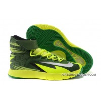 Nike Zoom Hyperrev KYRIE IRVING Black/Metallic Silver/Electric Green New Year Deals
