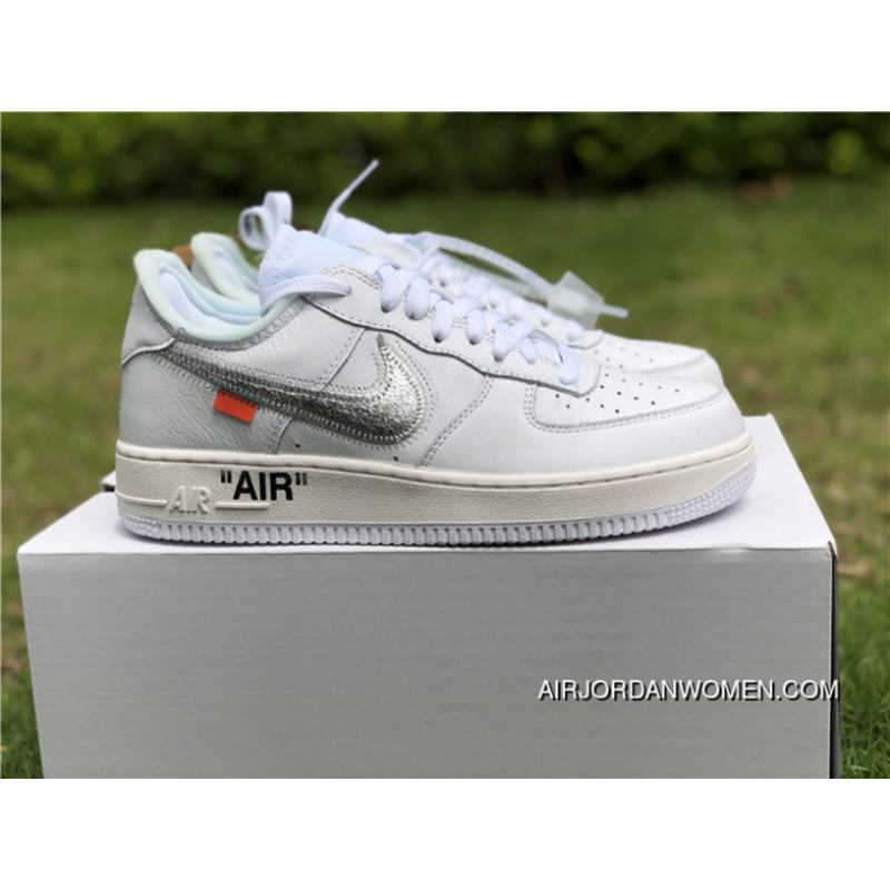 2018 Off White X Nike Air Force 1 White Outlet Price 87 28 Air