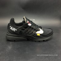 Nike OFF-WHITE Air All Black Color Version 2.0 X SKU Size7 AA3830-001-12 Outlet