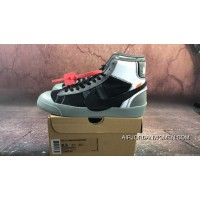 Virgil Abloh's Off-White X Nike Blazer Studio Mid Wolf Grey/Pure Platinum-Black-Cool Grey AA3832-001 Copuon