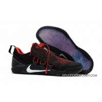 Nike Kobe A.D. NXT Black/Red Mens Size Shoes Free Shipping