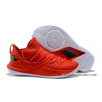 Curry 5 UA Curry 5 Red White 2018 Latest