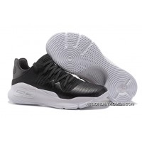 Under Armour Curry 4 Low Black And White Latest