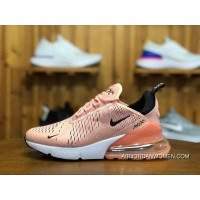 180 Nike Air Max 270 Participants In God Shallow Pink Zoom Air Women Running Shoes Size AH6789-600 Best