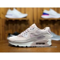 170 Nike AIR MAX 90 LX Zoom Women Shoes Cherry Blossom Put Sakura Pink Velvet Height-happens Running Shoes Size 898512-600 Online