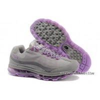 Hot Womens Nike Air Max 95 360 Grey Purple Super Deals