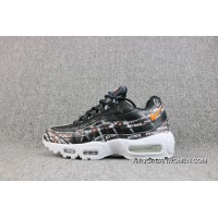 Nike Air Max 95 Zoom Retro Colors Collaboration Running Shoes Women Shoes And Men Shoes AV6246-001 Discount