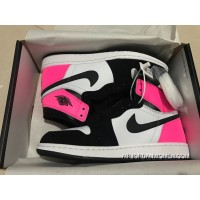 St Version Air Jordan 1 Full Grain Leather Valentines Day Women Shoes All Size Latest