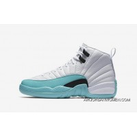 Air Jordan 12 Retro SKU 510815-100 Tiff Blue Women Size Free Shipping