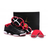 Girls Air Jordan 13 Retro Low GS Bred New Style