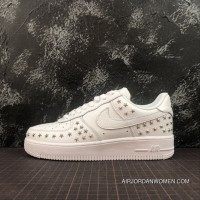 Nike Air Force One 07 A No Low Casual Sneaker AR0639-100 Size Women Latest