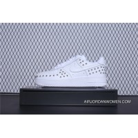 Sku AR0639-100 Nike Air Force One 07 Low Casual Sneaker White Gold Women Shoes Red Blue New Style