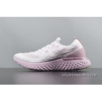 AQ0067-600 Participants In The Nike Epic React Flyknit Foamposite Particles Woven Running Shoes For Sale