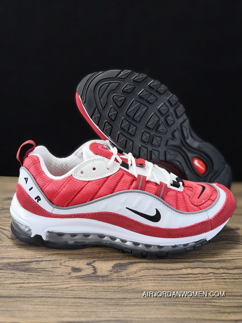 Supreme x Nike Air Max 98 844694 600 Men's Size 10 Red