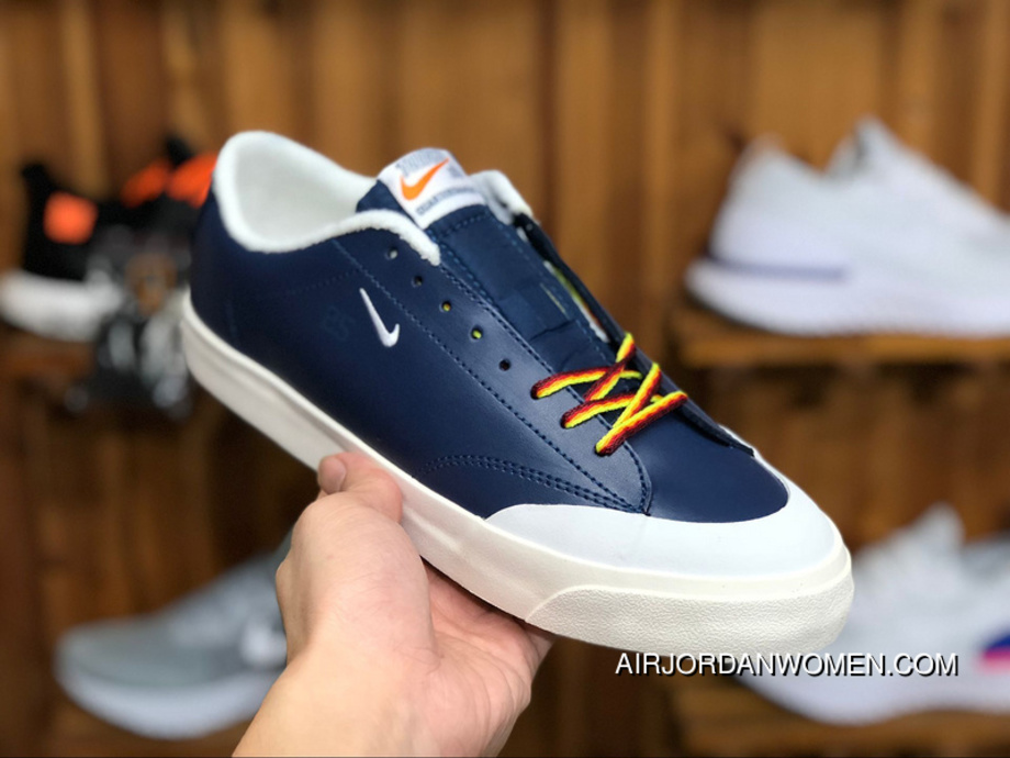 best service 36998 accc2 180 Nike SB ZOOM BLAZER LOW XT QS AQ3499 411 Women Men Blue Skateboarding  Shoes Super