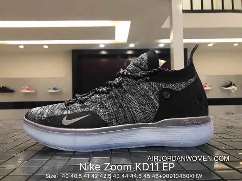468a578fe1d5 Nike Authentic Zoom KD 11 EP Kevin Durant 11 Combat Also Shoes AO2605-004  Flyknit