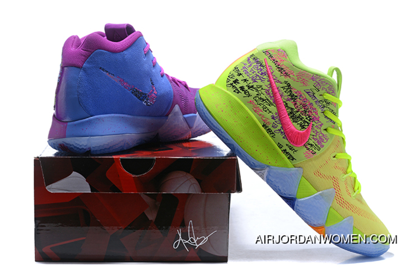 online store 4670d 9deea Top Deals 2018 Nike Kyrie 4 Confetti Multi-Color 943806-900