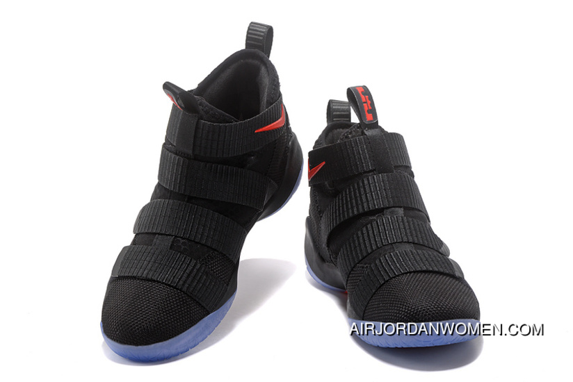 b36f4568cac Top Deals 2017 Nike LeBron Soldier 11 Black Red