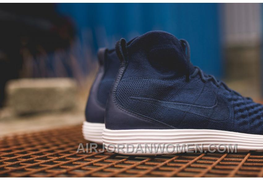 quality design 67ed2 7604d Nike Lunar Magista II Flyknit Blue White 852614-600 Authentic BTFrycP